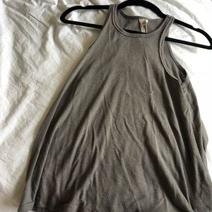 Free People Grey Tank Top